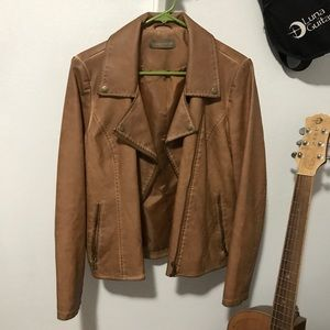 NWOT Faux Leather Jacket